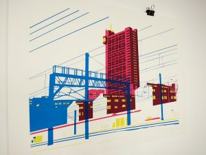 Trellick Tower Screen Print